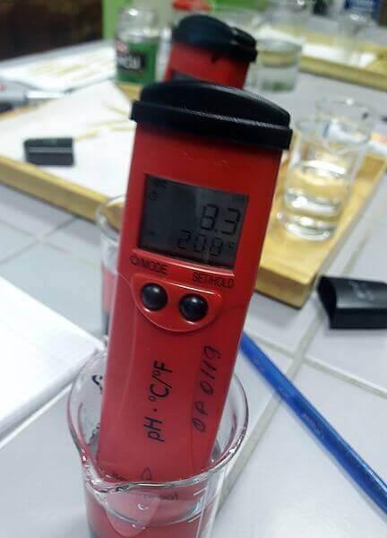 pengukuran kadar pH