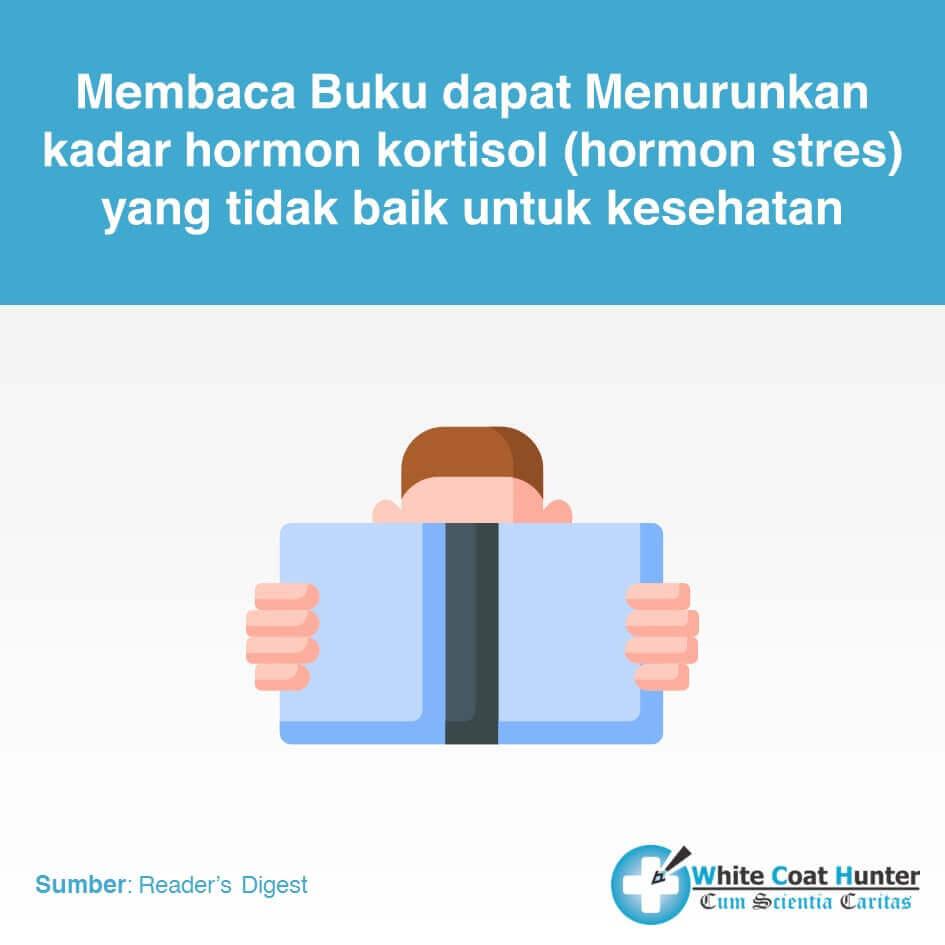 Membaca Buku menurunkan hormon kortisol