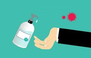 Handsanitizer untuk Virus Corona
