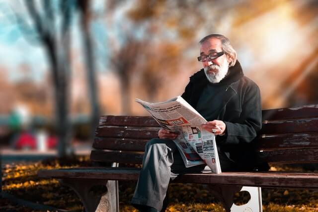 ilustrasi lanjut usia